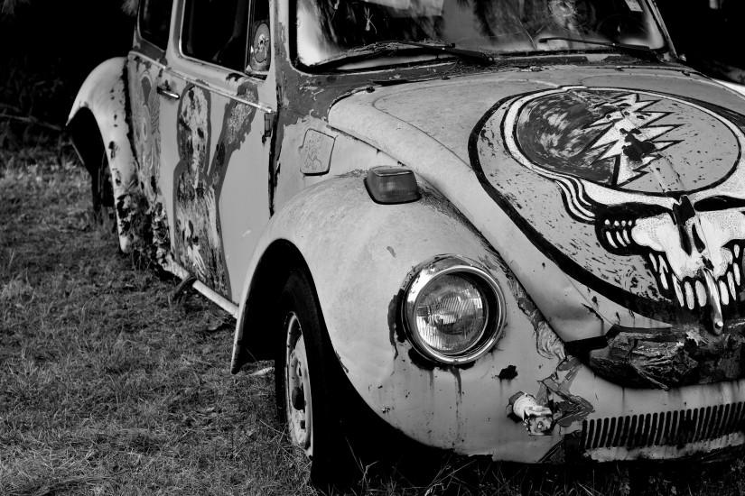 Greatful Dead BW Volkswagen