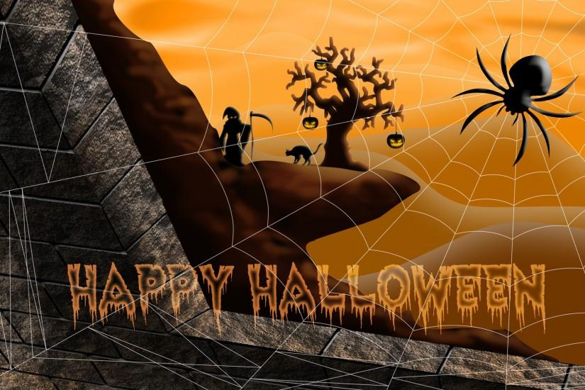 Happy Halloween wallpaper - Holiday wallpapers - #1738
