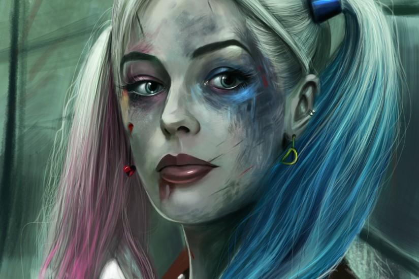 Download Harley Quinn Suicide Squad 2048 x 2048 Wallpapers - 4587552 -  suicide squad superhero joker margot robbie | mobile9