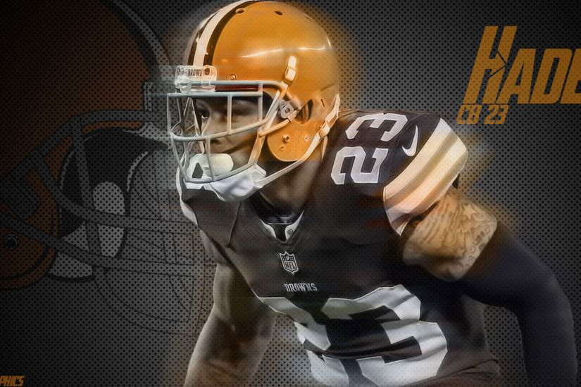 Browns sub! I made you guys a Joe Haden wallpaper! One of my favorite  current Browns players. Sidenote: I'm excited for the new logo!
