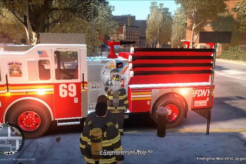 GTA IV FDNY Firefighter Mod | Episode 1 | First Day Playing As A NYC  Firefighter - Vidéo dailymotion