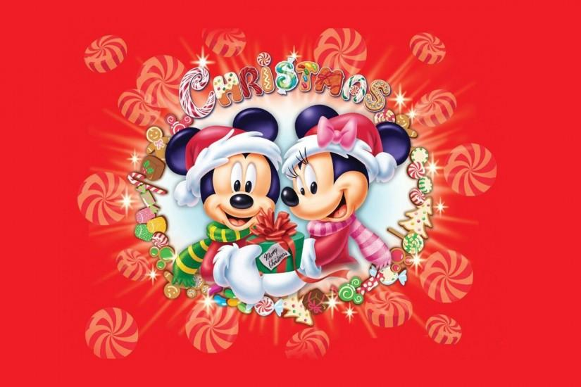 Mickey Mouse Christmas Wallpaper Free Download.