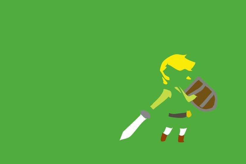 Wallpaper from The Legend of Zelda: A Link Between Worlds