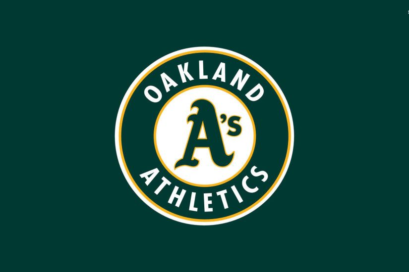 1920x1080 Oakland Athletics Logo Wallpaper