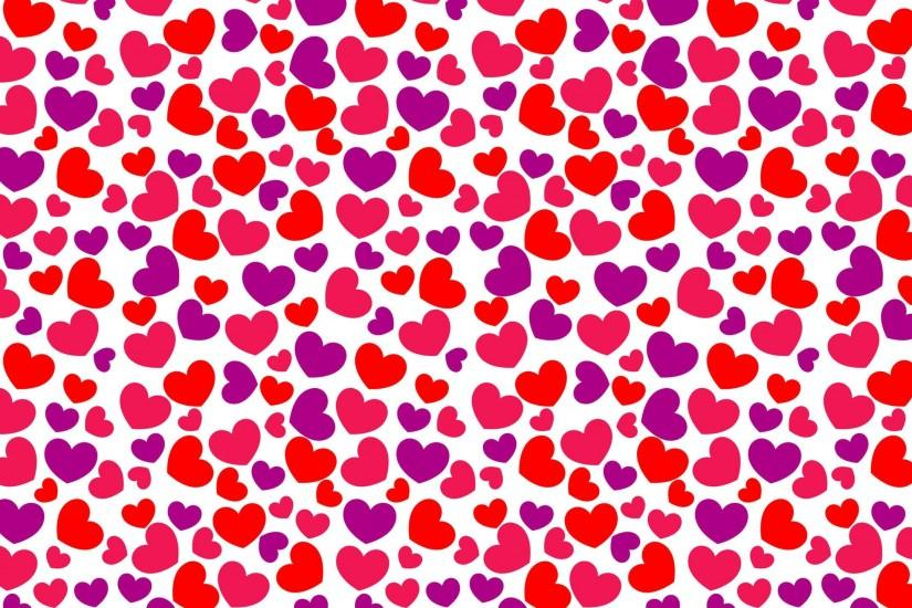 Heart pattern Wallpaper #