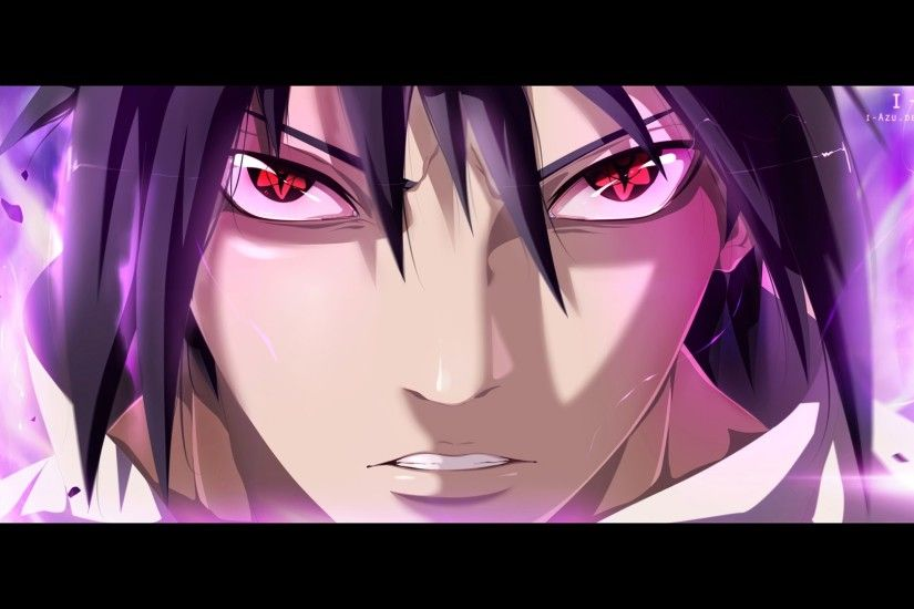 ... sasuke uchiha mangekyou sharingan picture hd anime wallpaper 1920x1080 .