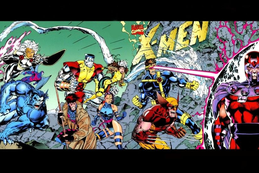 X-Men Wallpapers of Jim Lee from W3 | Triton World