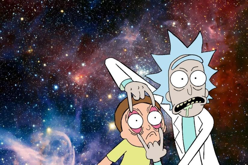 cool rick and morty background 1920x1080 image