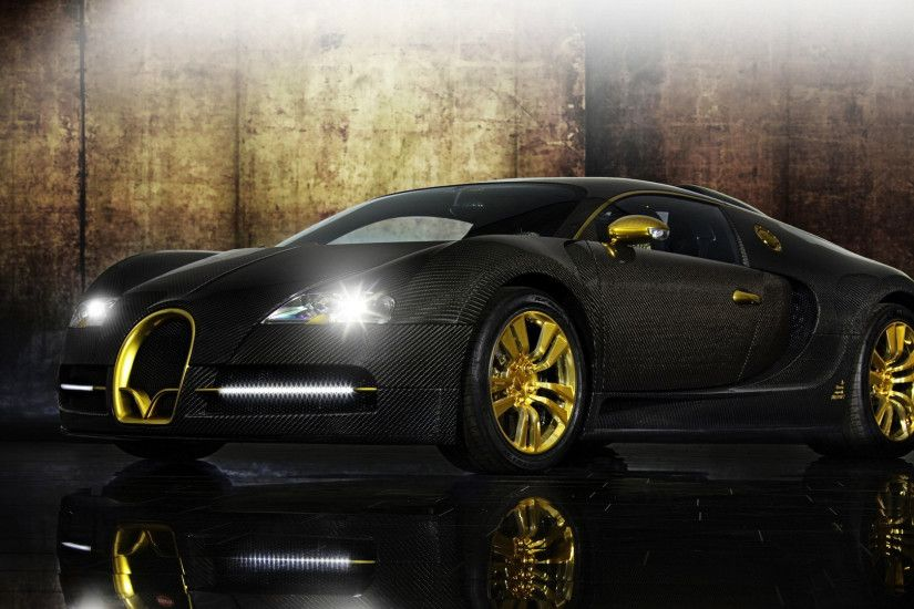 Bugatti Veyron Gold Wallpaper