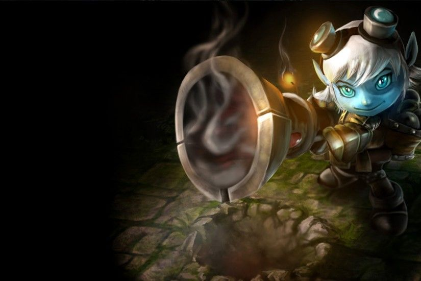 tristana league of legends hd wallpaper lol girl champion splash