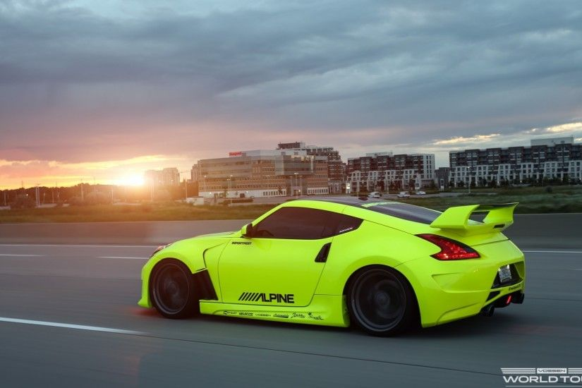 Nissan 370z Wallpaper HD for desktop and mobile in high resolution .