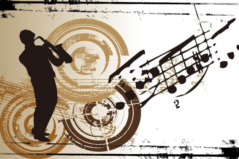 ... man playing a saxophone wallpaper vector wallpapers 52418 ...