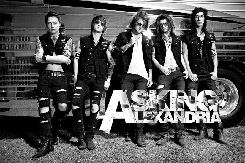 Asking Alexandria Wallpaper HD.