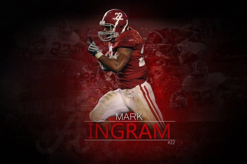 wallpapers desktop football crimson ingram alabama