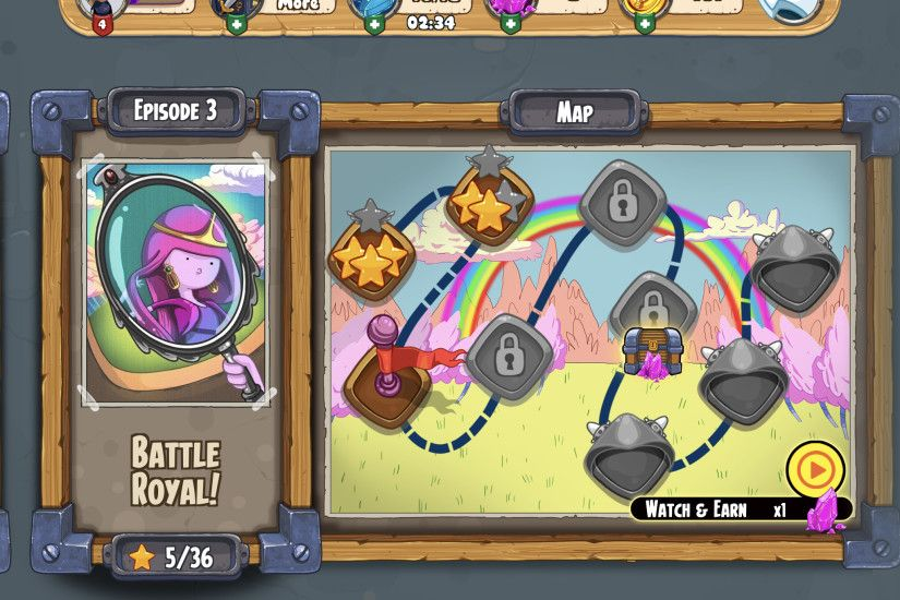 Adventure Time - Champions and Challengers Review: Battle The Evil Dice  Lord In This New Mobile RPG | Player.One