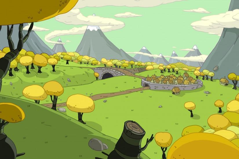 download free adventure time background 3807x1995 retina