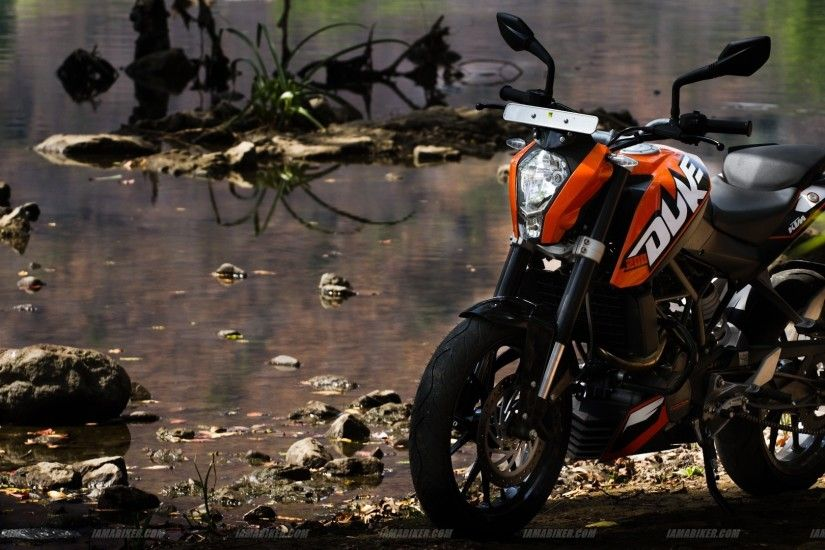 1920x1080 KTM Duke 200 Wallpaper