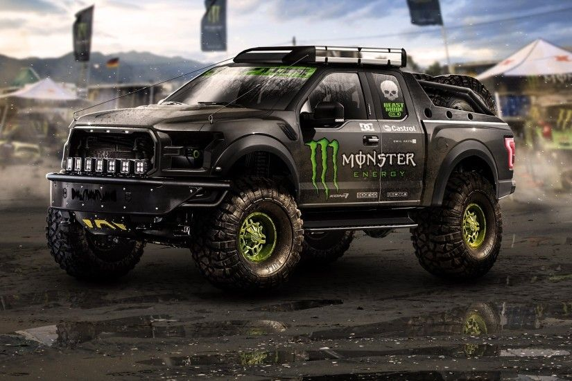pickup trucks, Monster Energy, Car Wallpapers HD / Desktop and Mobile  Backgrounds