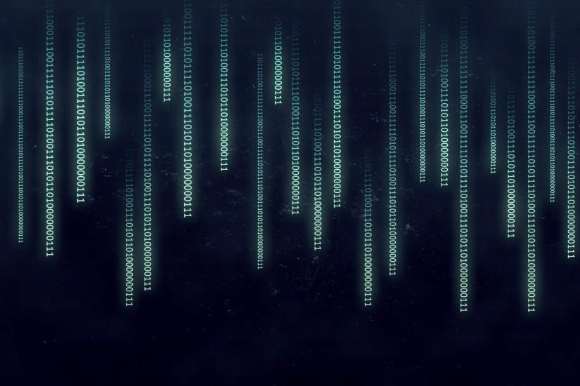 The Matrix, Binary Wallpaper HD