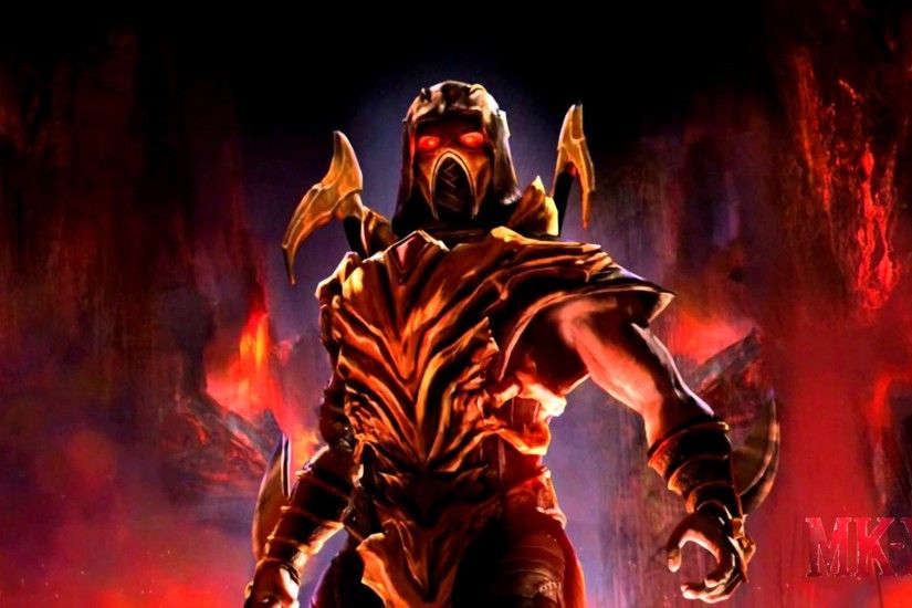 mortal kombat wallpapers scorpion