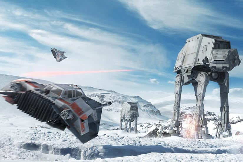 Star Wars Battlefront 4K HD wallpaper