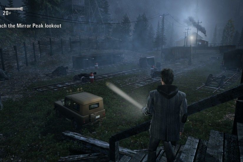 1920x1200 Alan Wake's American Nightmare Wallpaper by NickatNite89 Alan  Wake's American Nightmare Wallpaper by NickatNite89