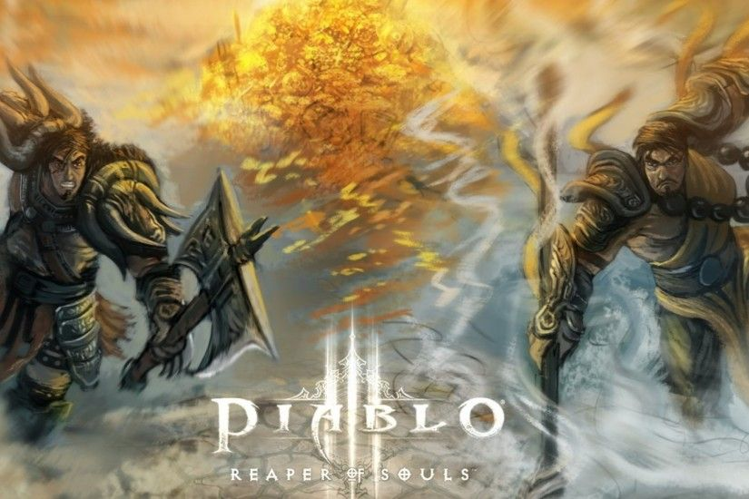 Preview wallpaper diablo 3, diablo iii reaper of souls, reaper of souls,  barbarian
