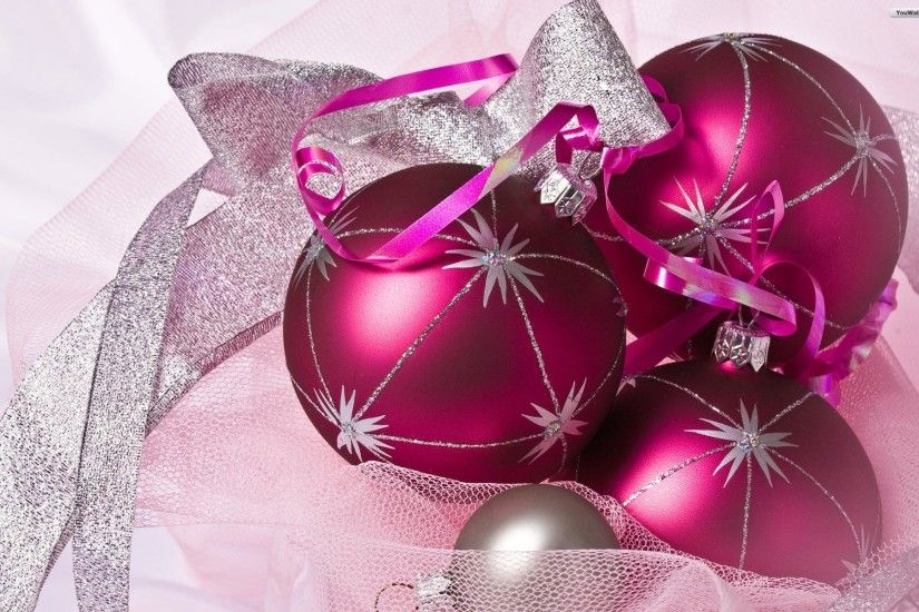 Pink Christmas Tree Wallpaper (18)