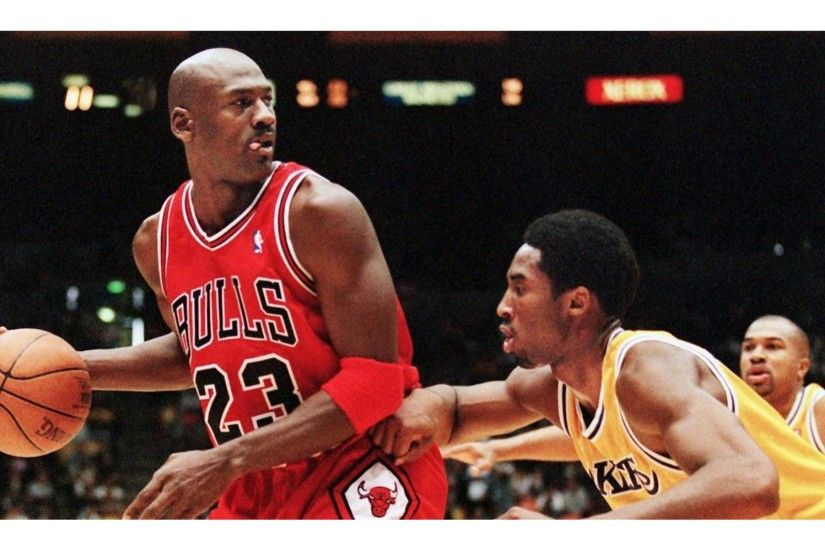 Kobe Bryant vs Michael Jordan 4K Wallpaper