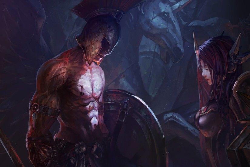 Legends Source Shen Wallpaper
