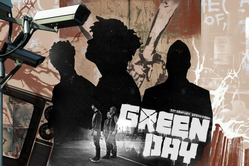 Green Day HD Backgrounds.
