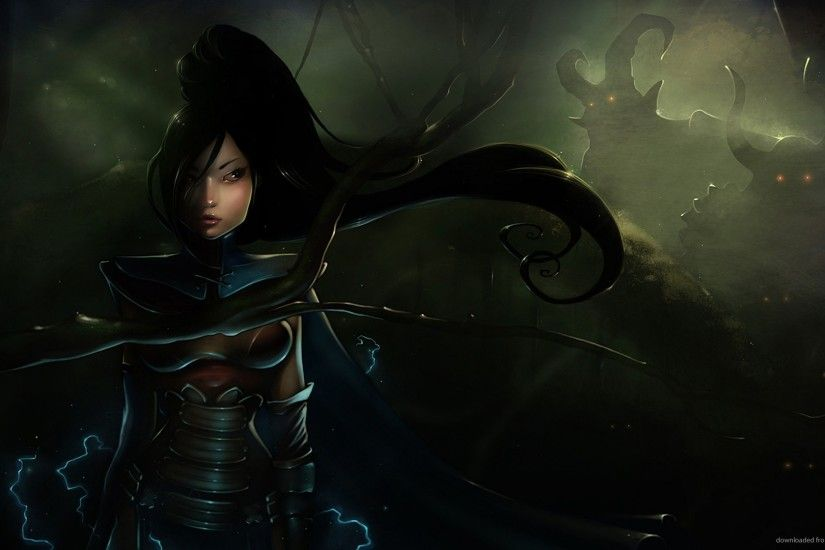 Diablo 3 Sorceress Art for 1920x1080