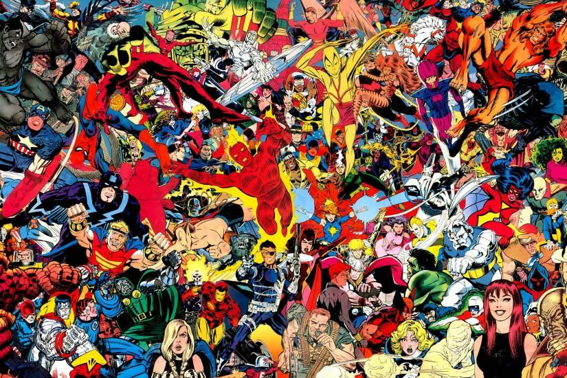 Comic Book Art Wallpaper - WallpaperSafari
