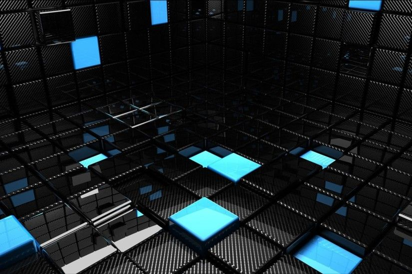 3d-view-abstract-blue-black-dark-cubes-reflections-