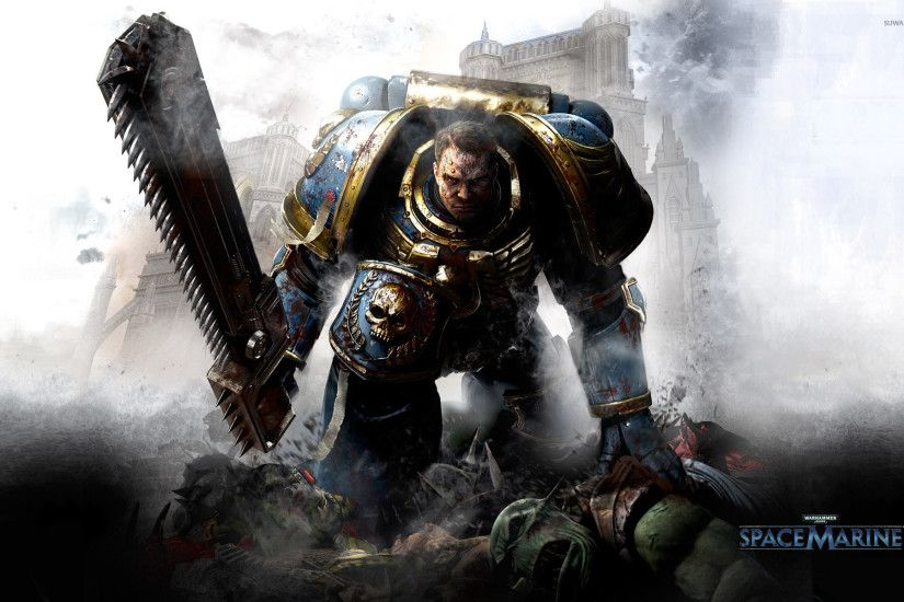 Warhammer 40,000 - Space Marines [3] wallpaper