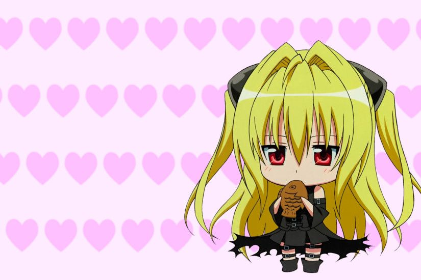 Anime - To Love-Ru Golden Darkness Chibi Wallpaper