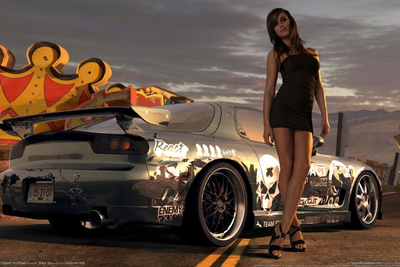 Need for Speed Prostreet Girl