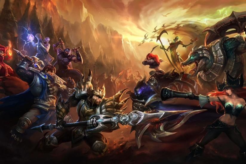 full size league of legends background 1920x1080 for meizu