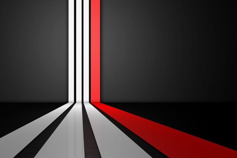 #black #white #red art-white-and-red-stripes-