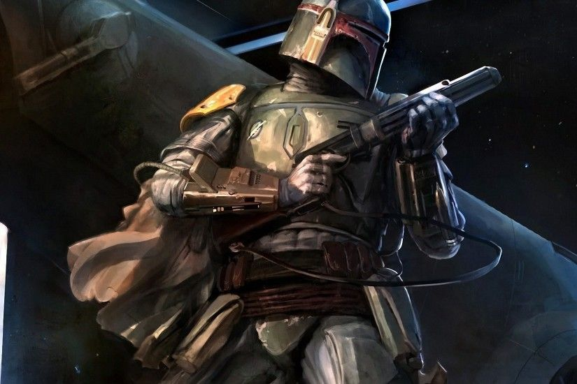 Boba Fett ready for battle (Full HD} ...