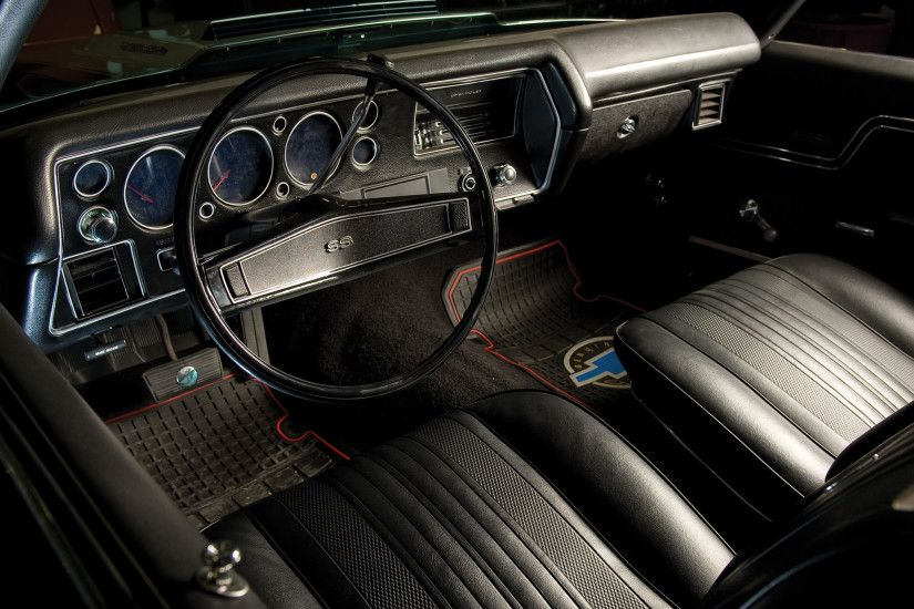 1970 Chevrolet Chevelle SS Wallpaper For iPhone 4