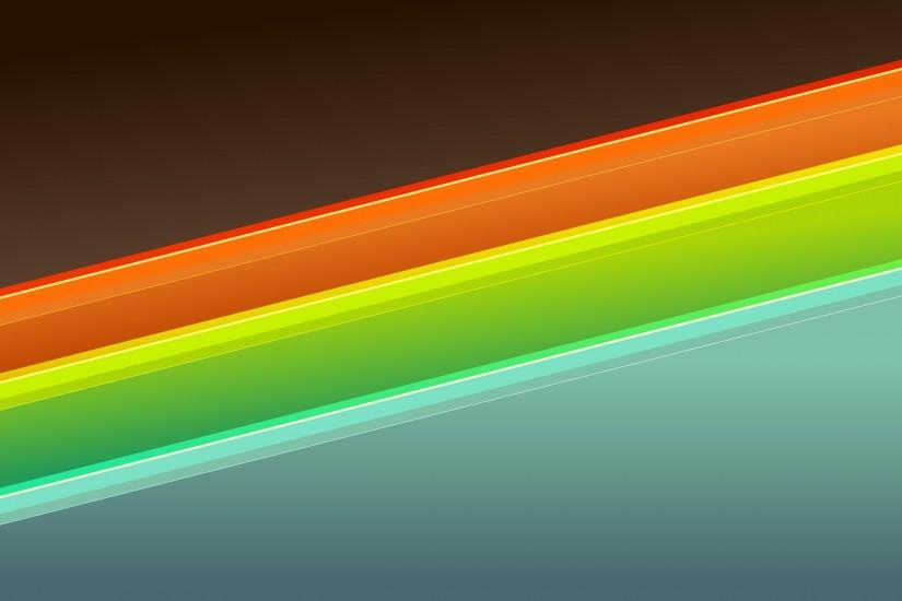 2560x1600 Wallpaper orange, blue, green, form