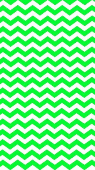 Eye-Catching Green Zigzag iPhone 6 Plus Wallpaper - Chevron Art Pattern  #iPhone #