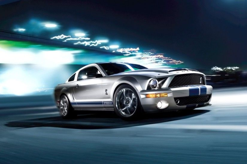 75 Ford Mustang Shelby GT500 HD Wallpapers | Backgrounds - Wallpaper Abyss