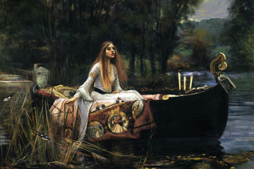 pre raphaelite wallpapers all - photo #25. Master study - The Lady of  Shalott by imorawetz on DeviantArt