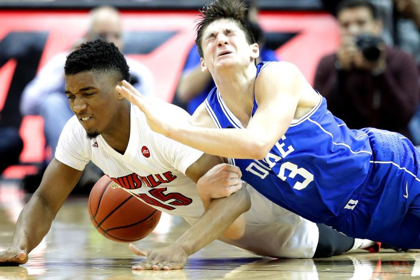 College basketball: Louisville upends Duke; Gonzaga downs St. Mary's - LA  Times