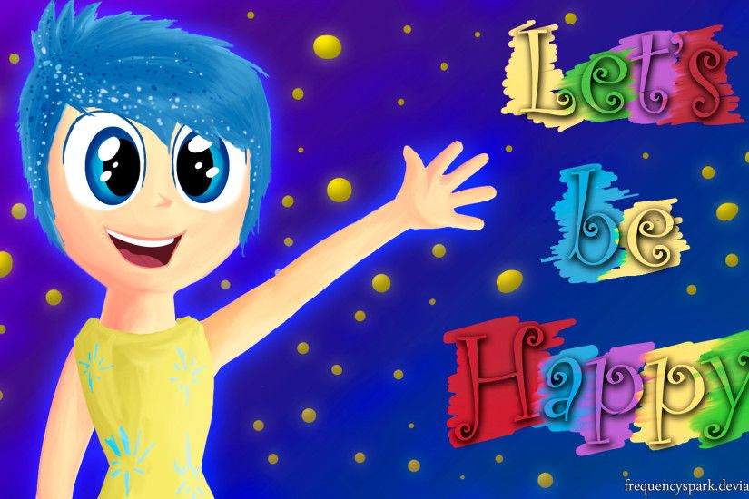 ... Inside Out - Joy - Wallpaper by Sparxyz