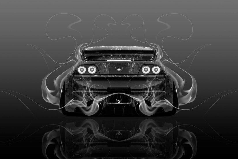 Nissan Skyline GTR R33 JDM Back Fire