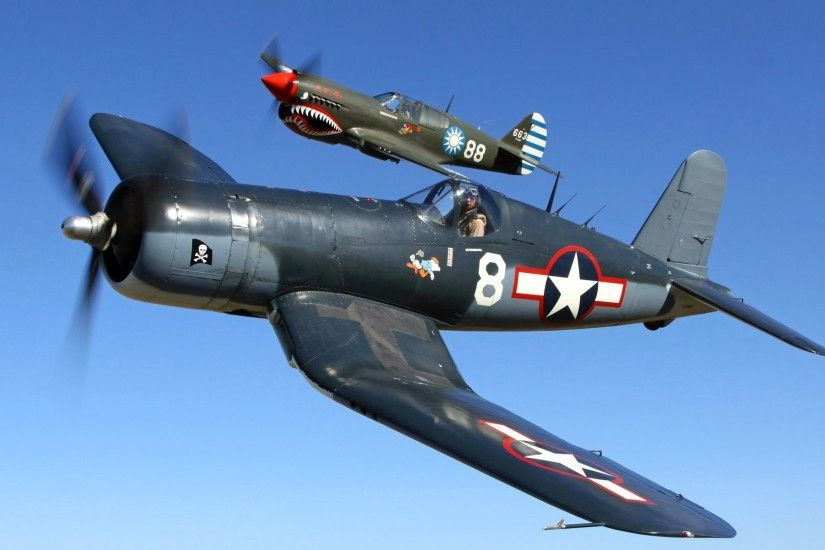 plane f4u bird cage corsair corsair fighter deck pilot flight the pair sky  retro