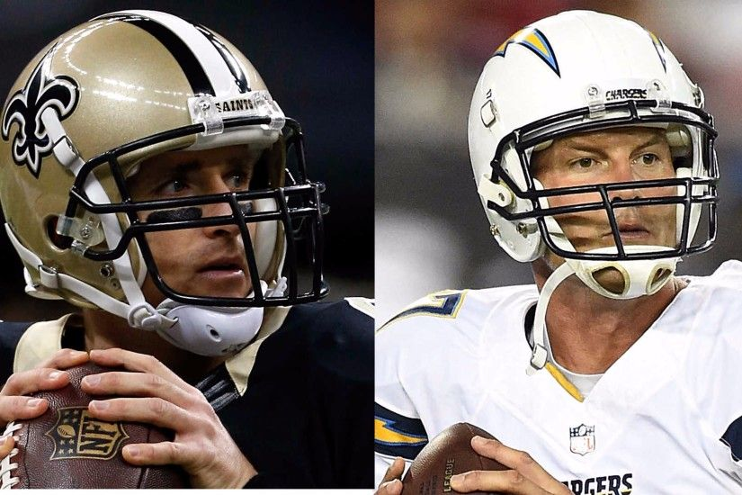 Philip Rivers and 4K Drew Brees Wallpaper